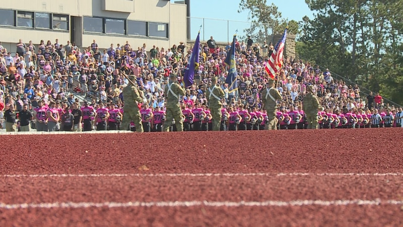 UW Stevens Point hosted their 11th annual pink game on Saturday.