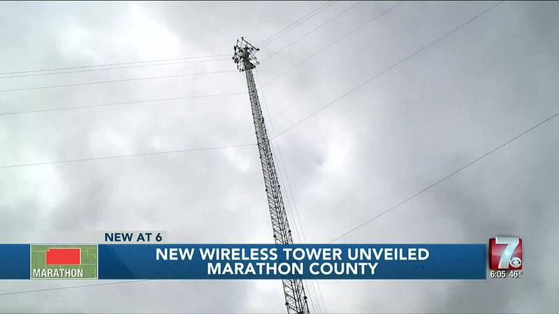 New Wireless Tower Unveiled 10/22/2021