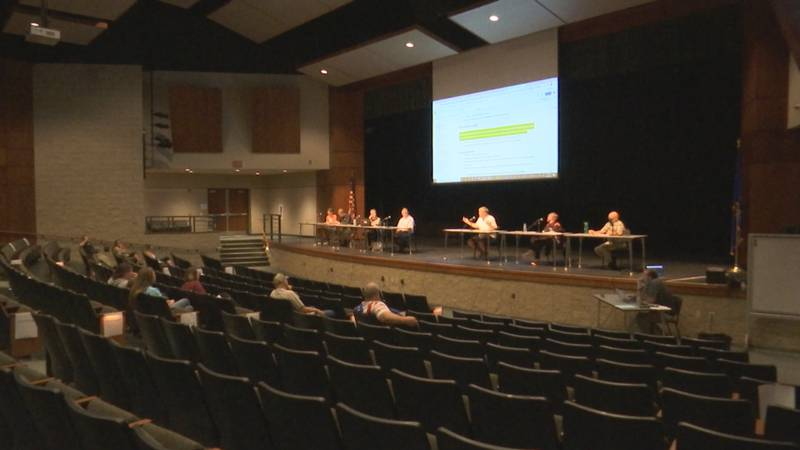 Members of the Clintonville School Board held a special meeting on Monday night where they...