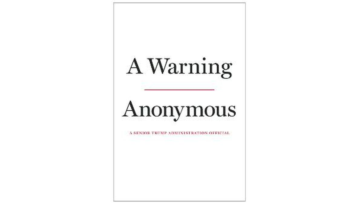 """The Hachette imprint Twelve announced Tuesday that """"A Warning"""" will come out Nov. 19. (Source: CNN)"""