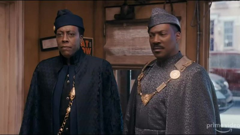 Eddie Murphy and Arsenio Hall return in the long-awaited comedy sequel.