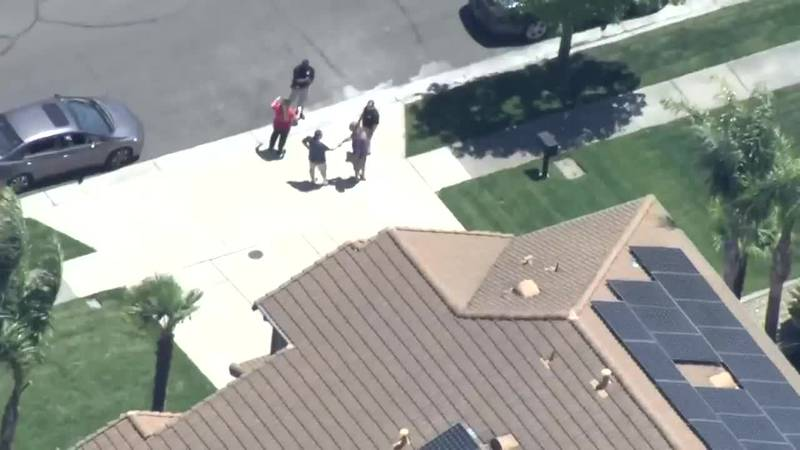 Police say a man died after being shot while invading a California home.