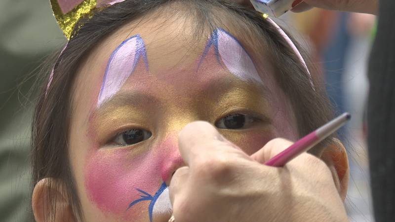 Hundreds gather for Community Halloween Party.