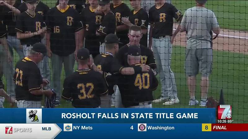Rosholt baseball falls in state title game to Boyceville