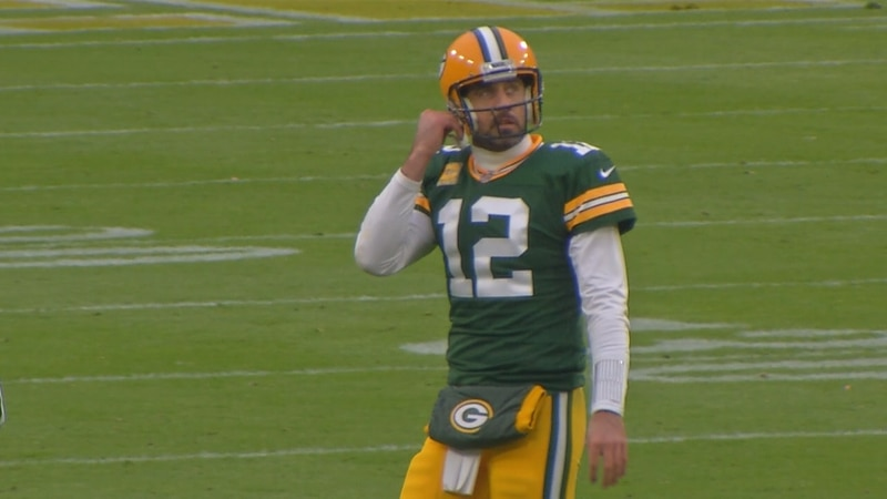 File photo of Packers quarterback Aaron Rodgers