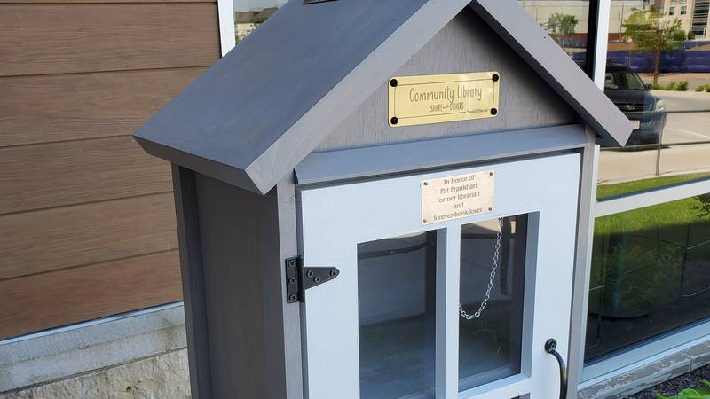 A new Little Free Library location is now open for use outside of the Woodson YMCA Wausau Branch