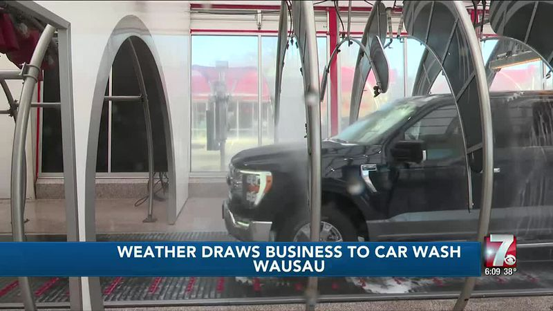 Weather Draws Business to Car Wash 3/6/2021