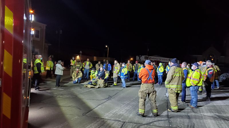 Debriefing in Dodgeville after missing teen was found safe