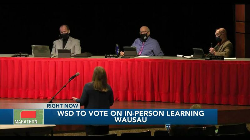 Wausau School Board to vote on in-person learning