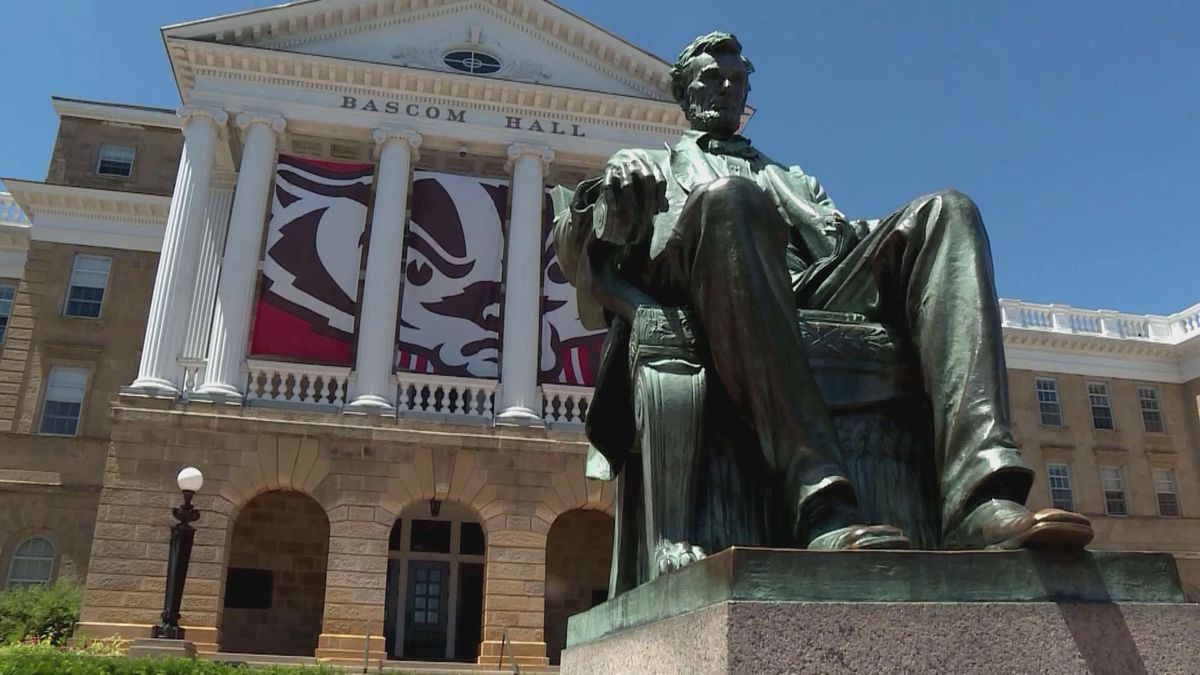 The leader of a group for Black students at the University of Wisconsin-Madison wants a statue of President Abraham Lincoln in place for more than 100 years the heart of campus removed.