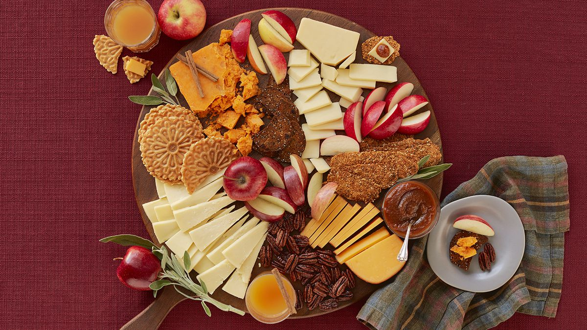 Wisconsin's Apple Cheddar Cheeseboard by Dairy Farmers of Wisconsin.