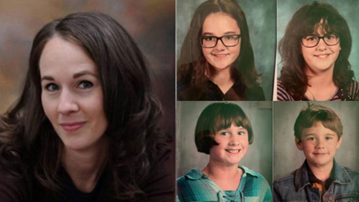 Deputies said Melody Bannister abducted her four children. (Source: Stafford County Sheriff)
