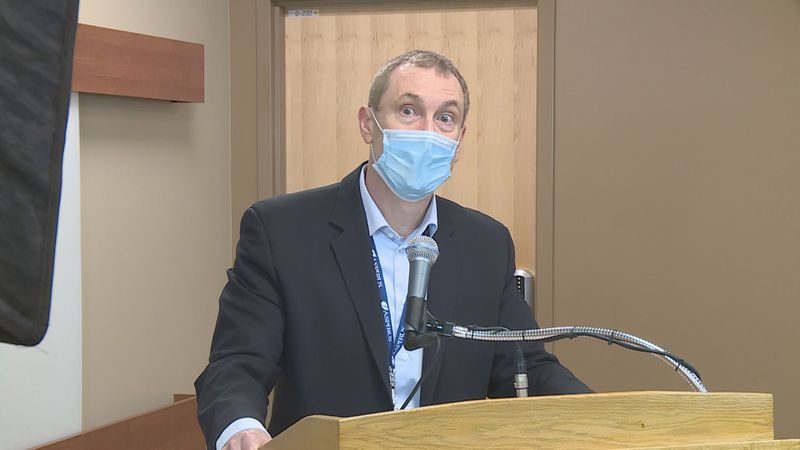 Aspirus says central Wisconsin is seeing a dramatic increase of patients in the hospital for...