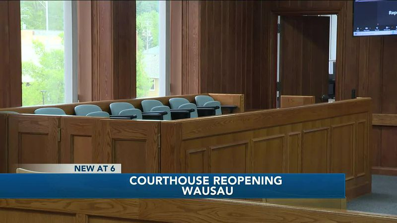 Marathon County Courthouse fully reopens for in-person trials