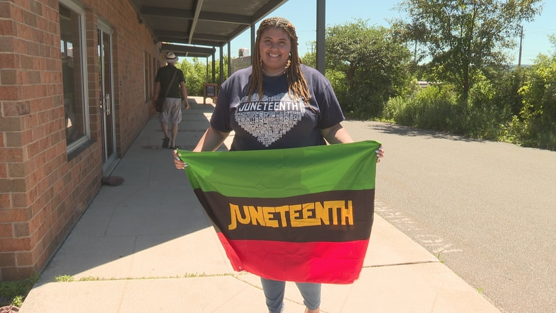 Kayley McColley is hosting Wausau's Juneteenth celebration on Saturday June 19th.
