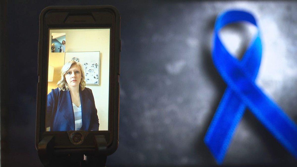 Child Advocacy Center forensic interviewer Jacqueline Gremler speaks to 7 Investigates, April...
