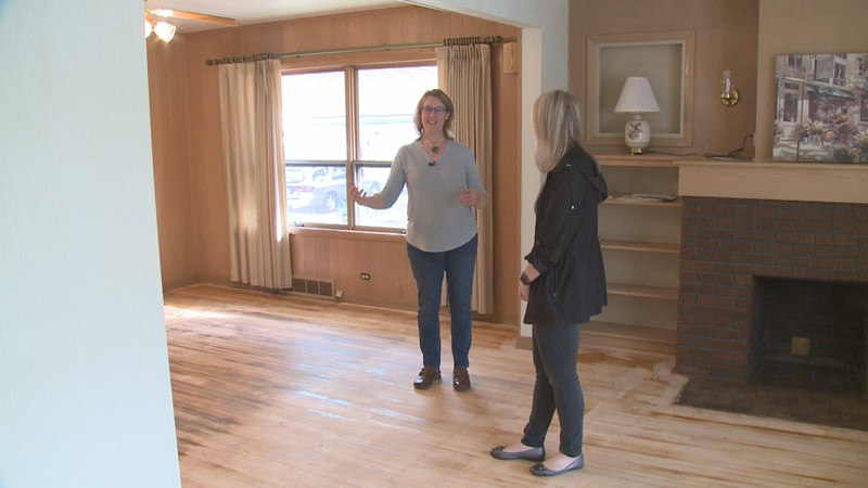 A Wausau family took their savings, purchased a home, and is renovating it to get it ready to...