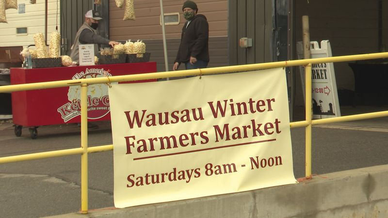 The Wausau Winter Farmers market had its last day of the season today.