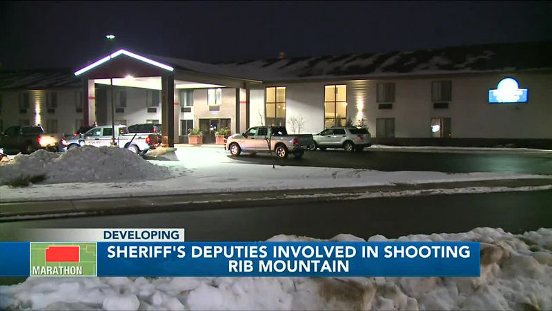 Woman injured in shooting involving sheriff's deputies at Rib Mountain hotel