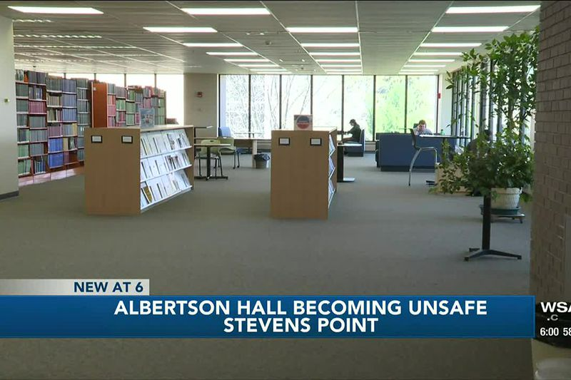 Albertson Hall on UWSP campus continuing to become unsafe