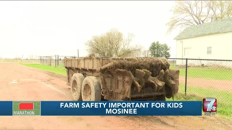 Learning to be safe on the farm important for children