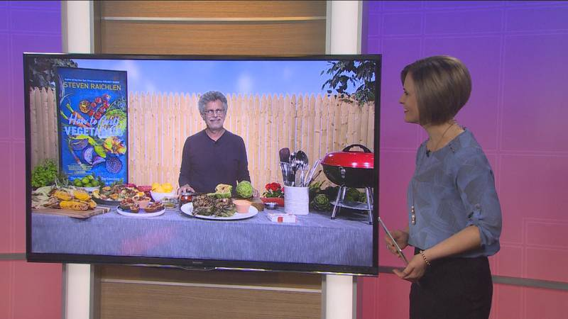 Steve Raichlen shares tips for cooking vegetables on the grill