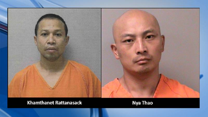 Khamthanet Rattanasack, 41, of Wausau and Nya Thao, 33, of Holmen have been identified as...