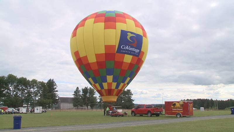 Taste 'N Glow Balloon Fest runs Friday-Sunday this weekend.
