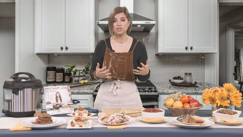 """Brittany Williams shares recipes from her book """"Instant Loss on a Budget"""""""