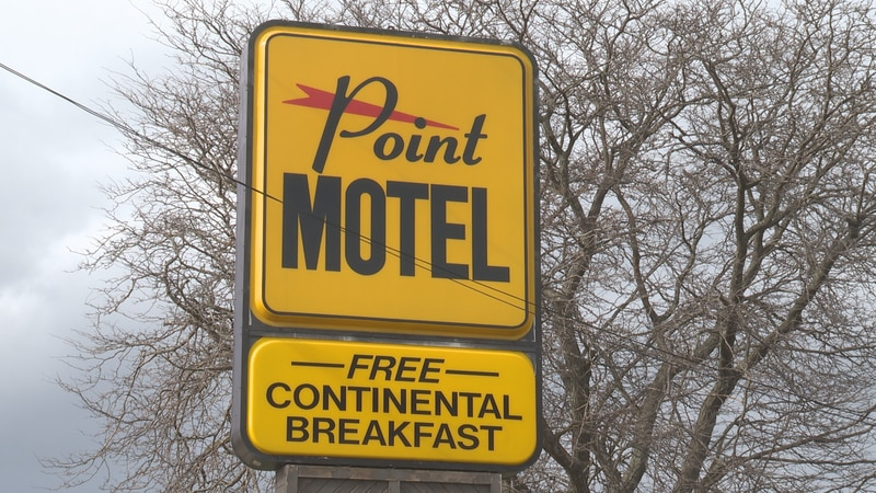 The Point Motel in Stevens Point and the Maytag building will become apartments and a new road...