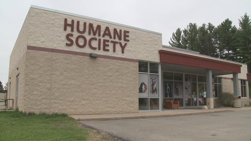 Humane Society of Marathon County on May 19, 2020 (WSAW photo)