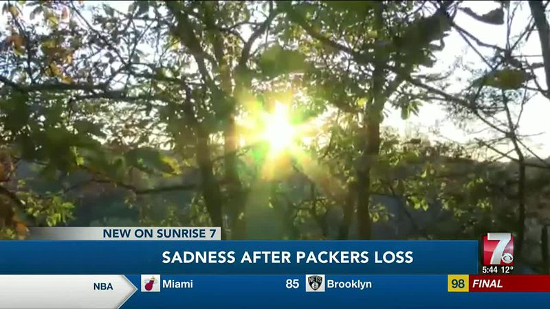 Sadness After Packers Loss