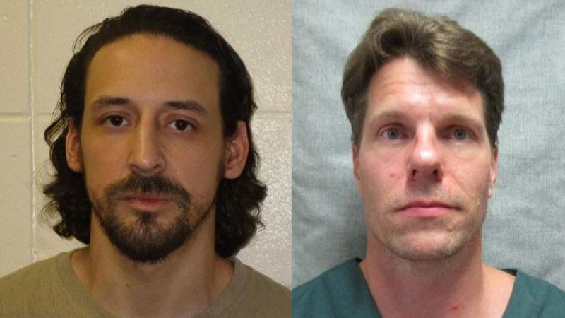 James Newman (left) and Thomas Deering escaped from Columbia Correctional Facility (Source:...
