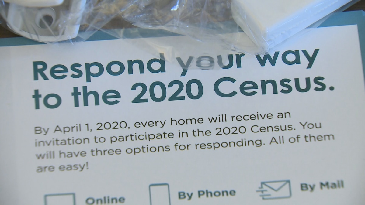 City officials are encouraging people to finish their census.