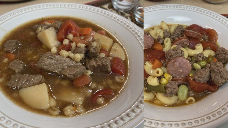 Beef soup recipes from the Wisconsin Beef Council