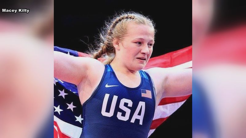 Stratford native and Team USA Macey Kilty (via Macey Kilty's Facebook page)