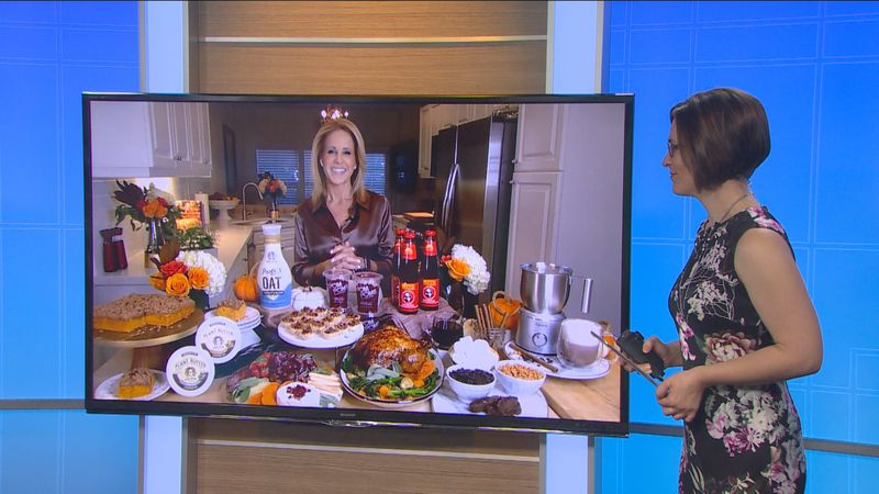 Celebrity chef Jamie Gwen shares recipe ideas for your holiday gathering