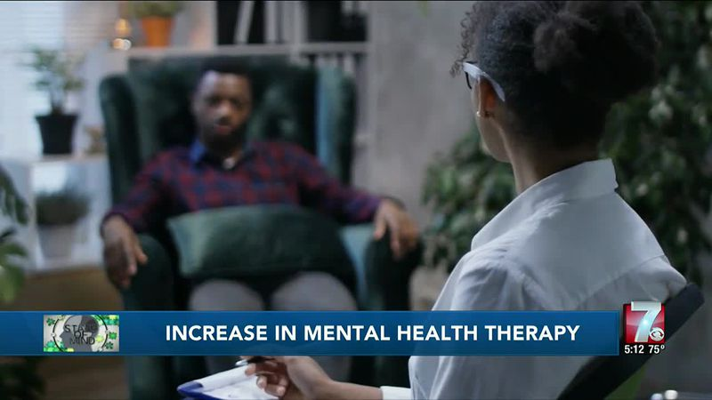 Professionals seeing more people seeking mental health therapy