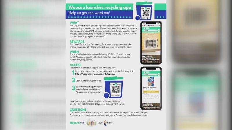 Better Bin app launches in Wausau