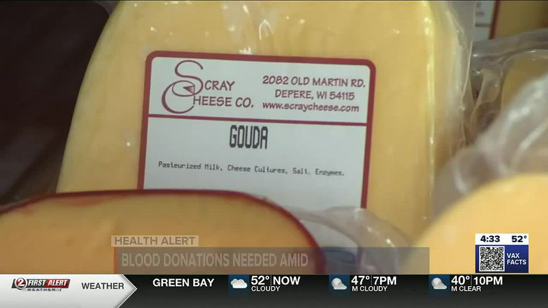 Scray Cheese from Rockland, Wisconsin