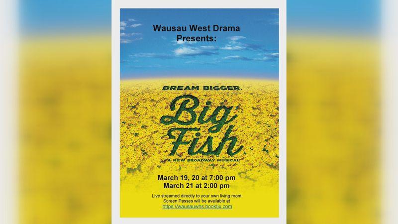 Wausau West High School to livestream Big Fish