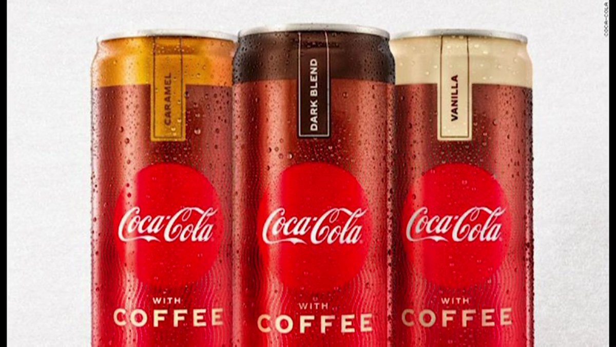 It will combine regular Coke with Brazilian coffee and it comes in three flavors: dark blend,...