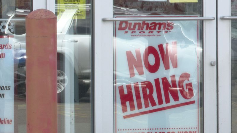 jobs added in Wisconsin in January