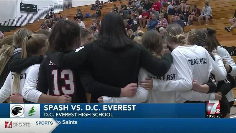 Spash vs. D.C Everest Volleyball  9/16/2021