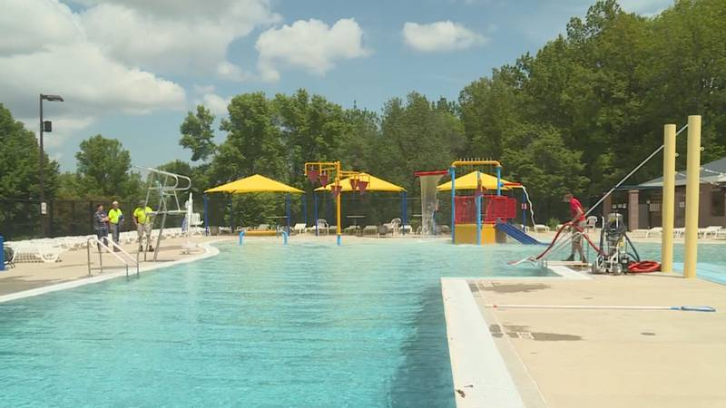 This summer all pools will have limited capacity and encourage social distancing.