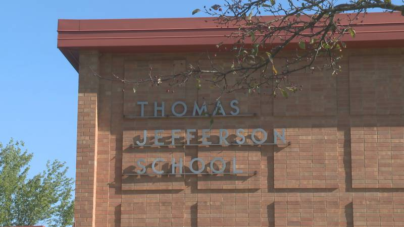 Thomas Jefferson Elementary School had a small taste of the 'Leader in Me' program wrapping up...