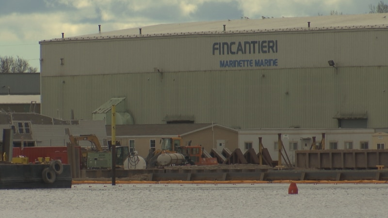 Dredging and blasting required for Fincantieri Marinette Marine to build and deliver larger...