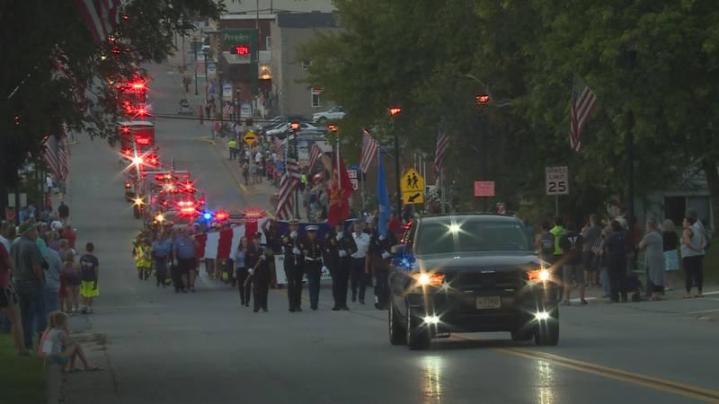 Marathon City Fire Department hosts 9/11 silent procession Saturday.