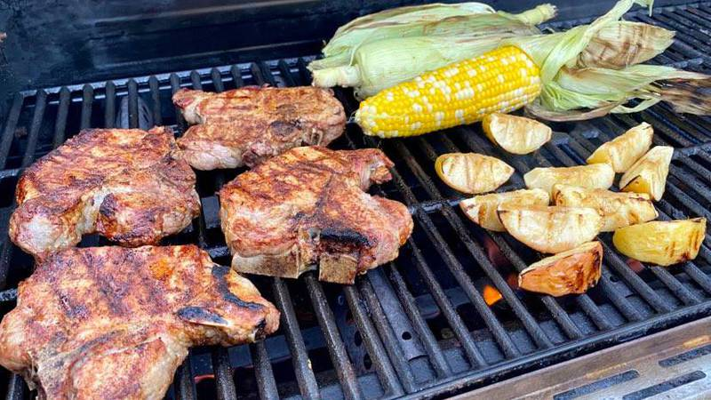 Grilling with Sunrise 7