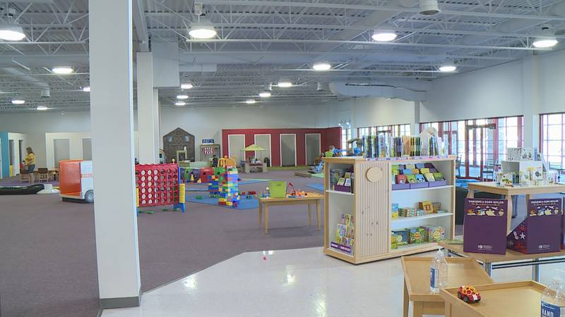 Greater Wausau Children's Museum re-opened Tuesday at its new location in Rothschild
